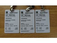 U2 tickets x 3 twickenham Sunday 9th July