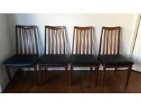 Gplan gomme teak chairs mint condition! FREE DELIVERY