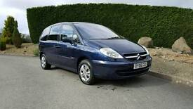 ## reduced##Citreon c8 2.2 hdi 6 seater 2006 model l