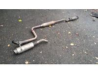 Honda Civic EG EK Stainless Exhaust. B16 B18 K20 H22 D16 VTEC Engine Vti Sir Lsi Esi Vei