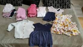 9-12 months girls bundle