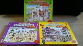 Five Jigsaw Puzzles from Horrible Histories and Horrible Science