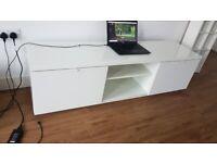 TV bench, Ikea Byas, 160x42x45 cm