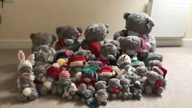 Collection of 35 me to you bears