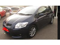 2009 Toyota Auris TR Start stop VVTI 1.4 low mileage very good condition cheap price