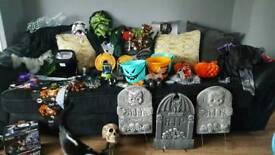 Halloween bundle tomb stones frankinstain etc
