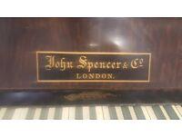 John Spencer & Co London Upright Piano