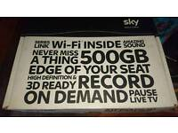 Sky + HD box with WiFi built in