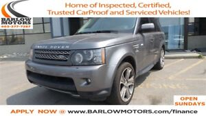 2011 Land Rover Range Rover Sport Supercharged   NAVI   LEATHER
