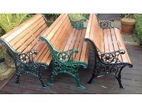 Garden Benches Cast Iron.
