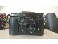 Fuji Xpro 1 with 27mm 2.8 lens