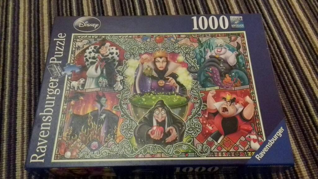 Disney jigsaw 1000 piece