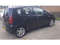 Mitsubishi Colt 2009,Automatic1.4 petrol,42000miles,AC,MOT,Black,5 doors