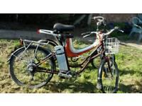 2Electric bikes used