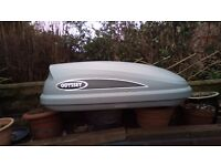 Karrite Odysey 325ltr. roof box. Brand new , only used once to try it out .
