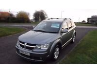 DODGE JOURNEY 2.0 CRD SXT,2010,7 Seater,Sat Nav,Cruise,Reverse Camera,Privacy Glass,F.S.H,Spotless