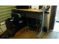 Aluforce Sit Stand Computer Work Desk Motorised