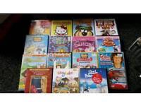 15 young children's DVD's joblot