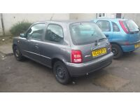 Nissan micra 10month mot left no advisorys on it great wee car no problems at all