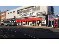 Retail Space immediate start long established Market