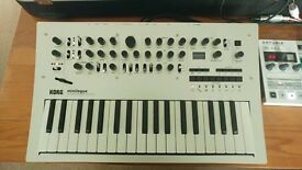 korg minilogue synthesizer nearly new synth sale or swap