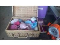 Children picnic basket