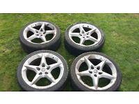 Vauxhall PENTA Alloys X4
