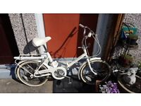 Raleigh Compact Folding Bicycle (Pristine)