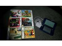 Nintendo 3ds XL with 7 games