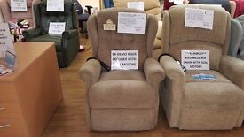 Sherborne Lynton Dual Motor Riser Recliner Chair, Delivery Available