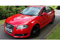 2008/58/AUDI A3 2.0TDI 3 DOOR 170BHP,SUNROOF,FULL LEATHER,TIMING BELT DONE!VERY GOOD COND.