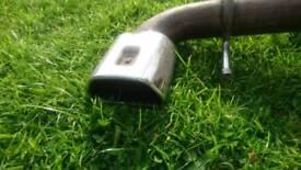 Vauxhall astra H vxr exhaust