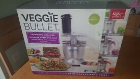 Veggie bullet. New in box.