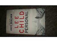 lee child personal. hardback. brand new