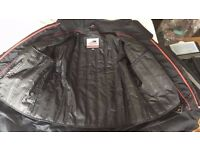 Motorcycle Leather Coat - FAST SALE NEEDED