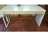 Ikea MICKE, White Desk in Great Condition