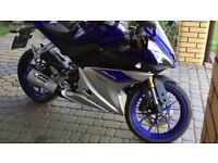 R125 ALL PARTS BREAKING R125 PANELS CLOCKS EXAUST AND MORE