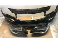 Vauxhall Astra k 2016 2017 2018 2019 front bumper and headlights
