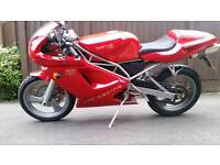 SACHS XTC 125CC ROAD LEGAL 89mph top end. 4 stroke