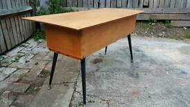 Retro sewing box
