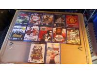 JOBLOT OF PLAYSTATION TWO GAMES £10