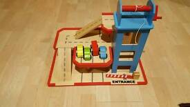 Child toy carpark