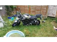 Yamaha mt 125cc 2016 stolen recovered damage to the housing on digital clock and ignition barrel
