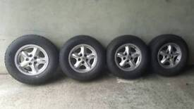 Landrover discovery 2 wheels.