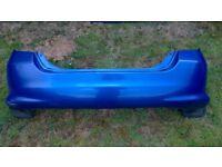 Honda Jazz Mk2 2002-2008 rear bumper blue
