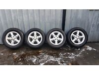 Land rover/Range rover x4 18 inch alloys with Goodyear tyres