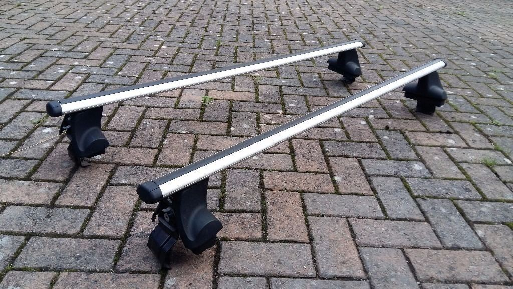 Was 163 160 As New Roof Bars Halfords Amp Fitting Kit