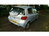 Bargain Low millege cheap insured taxed and mot toyota yaris lady owner drives great quick sale