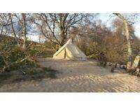 5 meter bell tent