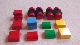 Brio Magnetic Train bricks